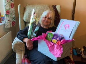 Several Ashwell Home Care Services Care Packages out for delivery